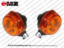 MZ 125, 150, 250 Ön Sinyal TAKIM - Eski Model