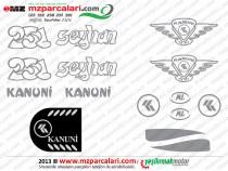 MZ Seyhan 251, 301 Etiket Takımı