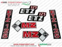 MZ 125 Etiket Takımı, IFA - EM
