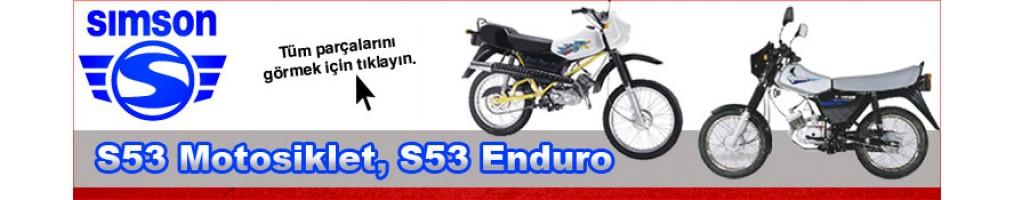 Simson S53 Motosiklet, S53 Enduro Parçaları