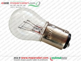 MZ ES 125, 150, 175, 250, 300 Rear Tail Bulb - 6V 5W