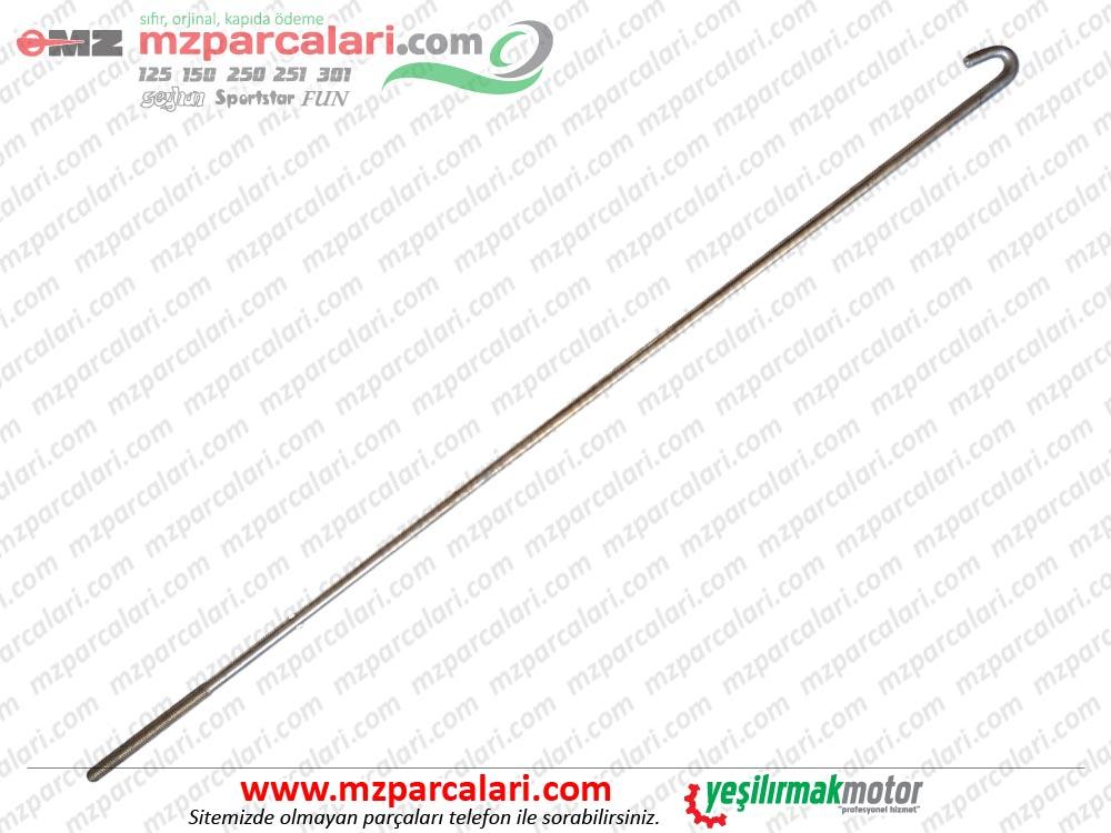 Kanuni MZ 125 Sportstar, 125s Klasik Arka Fren Çubuğu - Çıplak