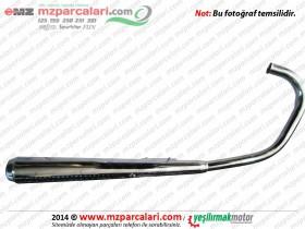 Kanuni MZ 125 Sportstar, 125s Klasik Egzoz Komple ORJİNAL