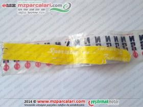 Kanuni MZ 125 Sportstar Etiket Takımı