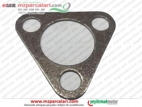 MZ 125, 150 Clutch Top Triangle Stamp