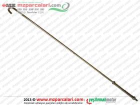 Kanuni MZ 125 Sportstar, 125s Klasik Arka Fren Çubuğu Seti - ORJİNAL