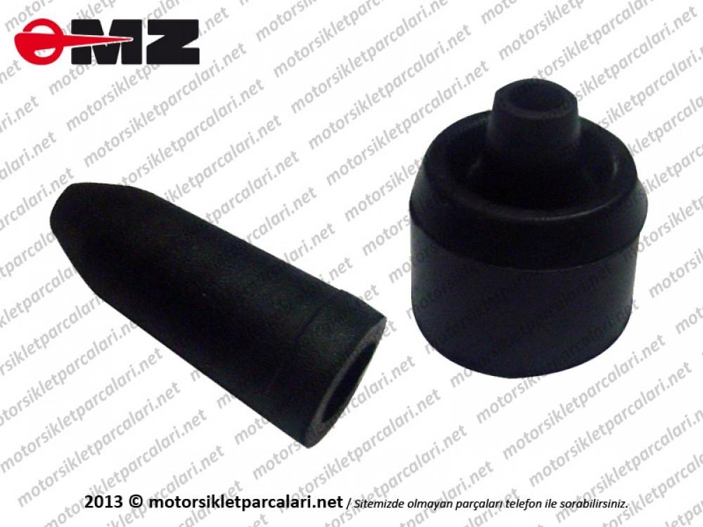 MZ 250, 251, 301 Clutch Wire Dust Rubber - Lower and Up Set