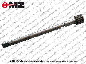 Kanuni MZ 125 Sportstar, 125s Klasik KM (Kilometre) Dişli Karşılığı - ORJİNAL