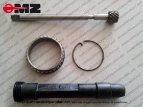 MZ 125, 150, 250, 251, 301 KM Dişlisi - Eski Model Set