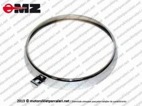 MZ 125, 150, 250, 251, 301 Far Çerçevesi - Nikelajlı