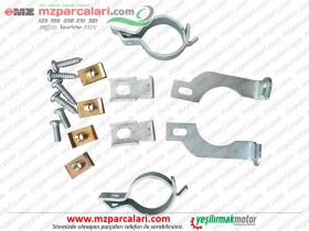 MZ ETZ 125, 150, 250, 251, 301 Headlamp Fairing Mounting - Kit