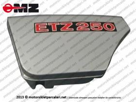 MZ 250 Yan Kapak - Sol - Kırmızı Renk - GERMANY