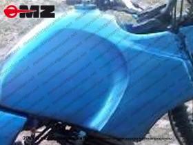 MZ Fun 251, 301 Benzin Deposu - Yeşil Renk - ORJİNAL