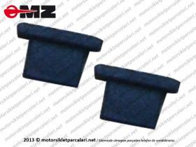 Kanuni MZ 125 Sportstar Yan Kapak Tutucu Alt Lastiği - ORJİNAL