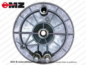 MZ 251, 301 Arka Fren Balata Kapağı, Çelik Jant - ORJİNAL
