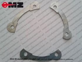 MZ 251, 301 Çelik Jant Arka Dişli Civata Emniyet Sacı - ORJİNAL