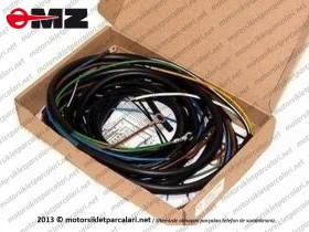 MZ 125, 150, 251, 301 Elektrik Tesisatı - Komple - YM