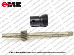 MZ 125, 150 Devir Dişlisi ve Plastiği