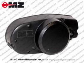 MZ 125, 150 Şanzıman Yan Kapak - Sol - Yağ Pompasız Tip