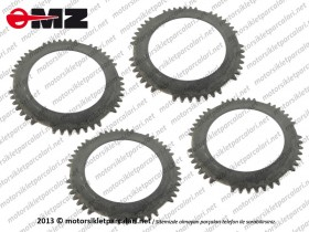MZ ETZ 250, 251, 301 Clutch Plate Set
