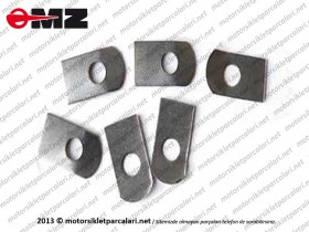 MZ ETZ 250, 251, 301 Clutch Locking Plate - Set