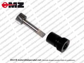 MZ 250, 251, 301 Devir Dişli ve Plastiği