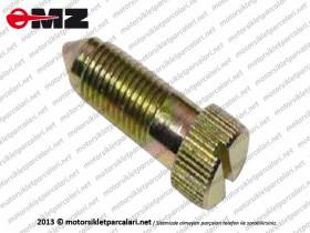 MZ ETZ 125, 150, 250, 251, 301 Carburetor Idle Set Screw, New Model