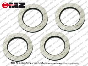 MZ ETZ 125, 150, 250, 251, 301 Front Shock Absorber Inner Washer - Set