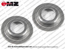 MZ ETZ 125, 150, 250, 251, 301 Stopping Front Screw Washer Set - Damping Washer