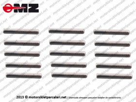 MZ ETZ 250, 251, 301 Starter Needle Bearing - Set (23 Piece)
