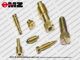 MZ ETZ 251, 301 Carburetor Repair Kit - Bing