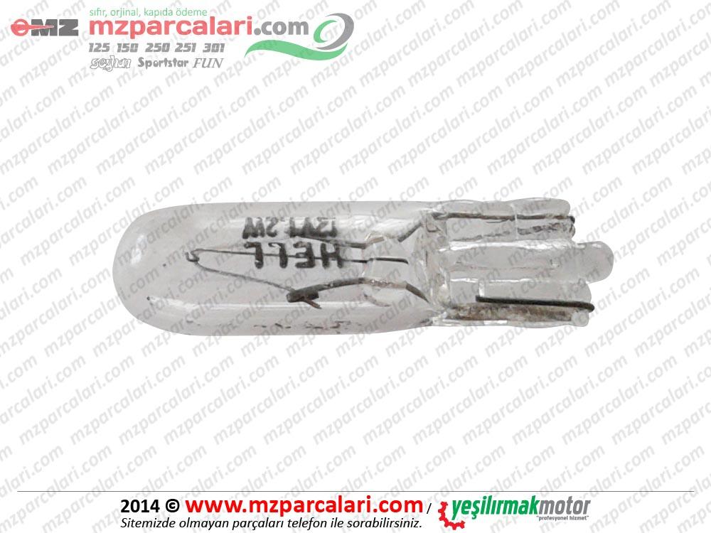 MZ 251, 301 Dipsiz Ampül Küçük (Gösterge Ampülü) - YM