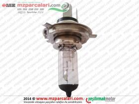MZ ETZ 125, 150, 250, 251, 301 Headlight Bulb, Halogen H4 - 12V 55/60W