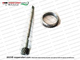 Kanuni MZ 125 Sportstar, 125S Klasik KM (Kilometre) Dişlisi ve Karşılığı - Set - ORJİNAL