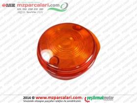 MZ 125, 150, 250, 251, 301 Ön Sinyal Camı (Oval)