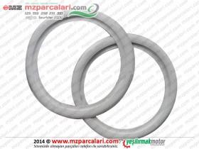 MZ 250 Teker Beyaz Lastik Yanak Takımı (Arka ve Ön Uyumlu) 1 lastik için olan fiyat