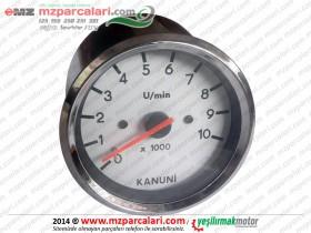 MZ Seyhan 251, 301 Devir Gösterge Saati - ORJİNAL