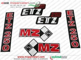 MZ 250 Etiket Takımı, IFA - EM
