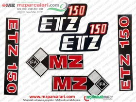 MZ 150 Etiket Takımı, IFA - EM