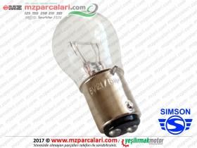 Simson Arka Stop Ampulü 6V Tip 1 - S51, S53, SD50, SR50, SR80