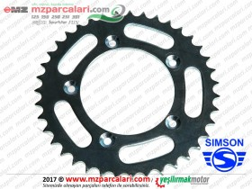 Simson Arka Zincir Dişlisi - S51, S53, SD50, SR50, SR80
