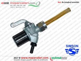Simson Benzin Musluğu - S51, S53, SD50, SR50, SR80
