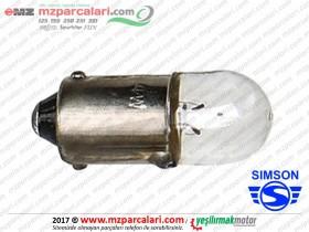Simson Park Ampulü 6V Tip 1 -S51, S53, SD50, SR50, SR80