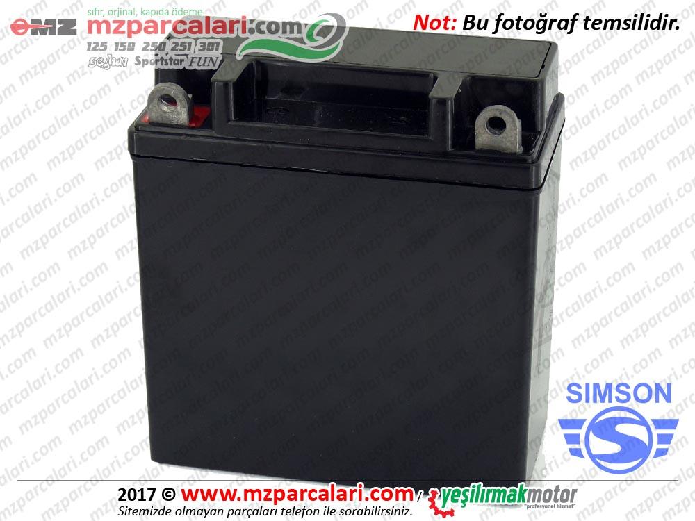 Simson Aküsü 12v 5 ap - S51, S53, SD50, SR50, SR80