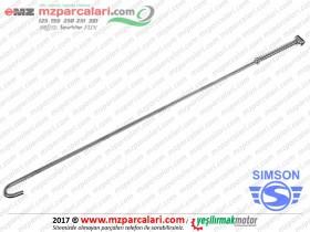 Simson Arka Fren Çubuğu Komple - S51