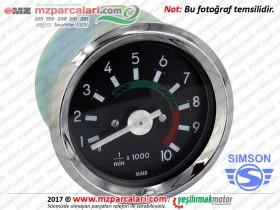 Simson Devir Saati, Gösterge - S51, S53