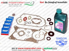 Simson Motor Bakım Seti - S51, S53, SD50, SR50, SR80