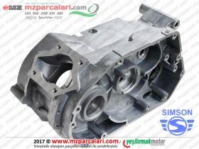 Simson Motor Gövdesi, Karter - S51, S53, SD50, SR50, SR80 - Gri