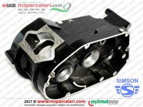 Simson Motor Gövdesi, Karter - S51, S53, SD50, SR50, SR80 - Siyah