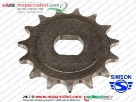 Simson Zincir Ön Dişlisi - S51, S53, SD50, SR50, SR80